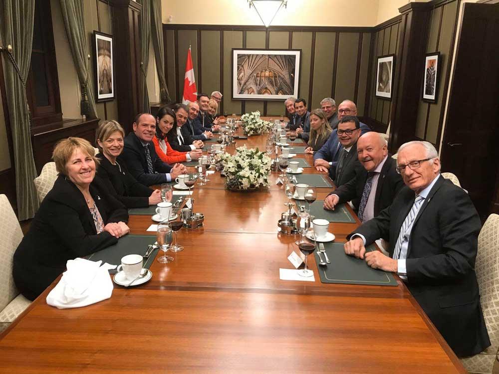 Dinner With Speaker of House Anthony Rota