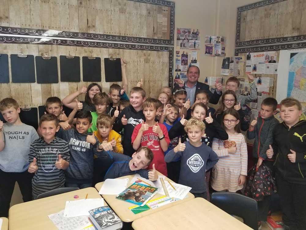 Visiting Grade 4 & 5 Classes