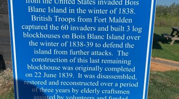 British Blockhouse, Boblo Island