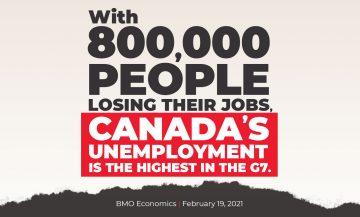 800,000 Jobs Lost