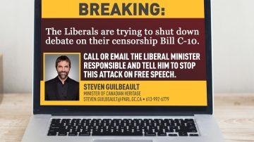 Bill C-10 Shutdown