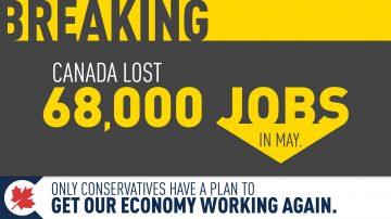 68,000 Jobs Gone