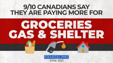 Groceries, Gas and Shelter