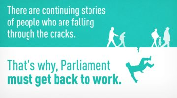 Parliament Needs to Get Back to Work