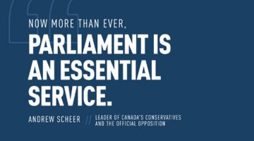 Now More Than Ever, Parliament is an Essential Service