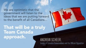Will the Government Listen to Our Ideas to Benefit Canadians