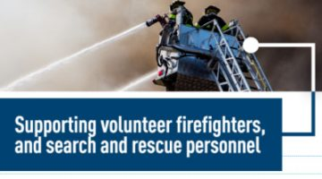 Tax Credits for Volunteer Firefighters and Search & Rescue Personnel