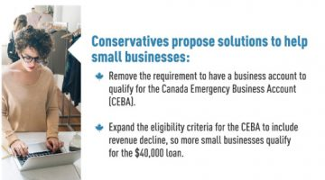 Conservatives Propose Solutions to Help Small Businesses