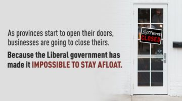 The Liberal Government Has Made it Impossible for Small, Local Businesses to Stay Afloat
