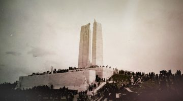 Lest We Forget. The Battle of Vimy Ridge