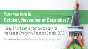Apply for CERB!