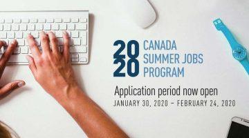 Canada Summer Jobs Program