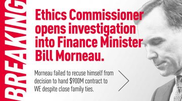Ethics Commissioner Opens Investigation Into Finance Minister Bill Morneau