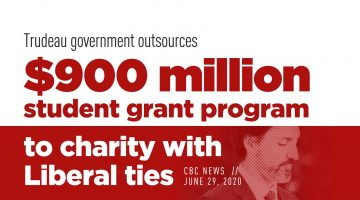 Trudeau Government Outsources $900M to Charity With Liberal Ties