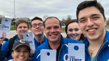 Throwback Thursday to Knocking on Doors in May 2019