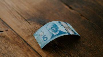 Canadian $5 Bill