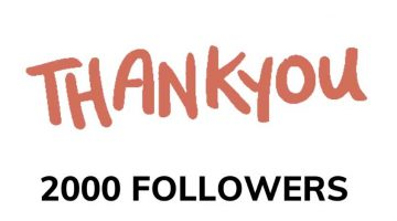 Thank You for 2,000 Facebook Followers!