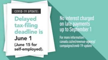 Tax Deadline Update