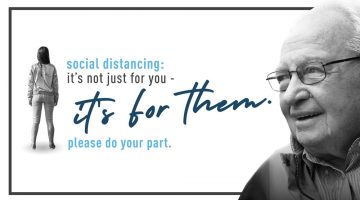 Help Protect Our Seniors and Social Distance