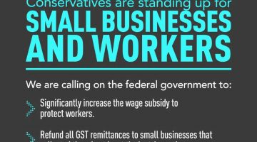 Conservatives are Standing Up for Small Businesses & Workers