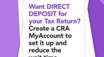 Want Direct Deposit for Your Tax Return?