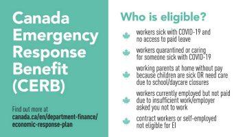 Canada Emergency Response Benefit Eligibility
