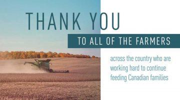 Thank You Canadian Farmers