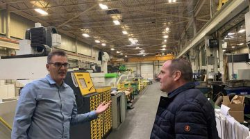 Meeting With Martin Schuurman of Service Mold + Aerospace Inc.